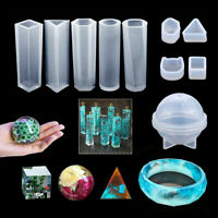 83PCS Resin Casting Silicone Molds Epoxy Spoon Kit Jewelry Making Pendant Craft~