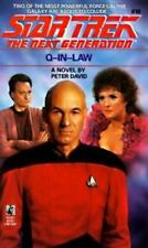 Q-In-Law (Star Trek The Next Generation, No 18), Peter David, 0671733893, Book,