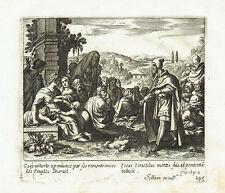 PROFETA OSEA PENITENZA Propeth Hosea penance - Acquaforte Originale Jollain 1680