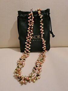Honora Cultured Freshwater Double Strand Pearl necklace NEW