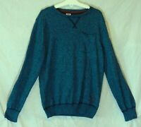 Boys S. Oliver Blue Black Speckle Marl Thin Knit Pullover Jumper Age 12 Years