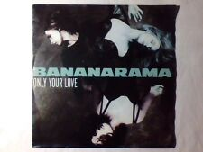 "BANANARAMA Only your love 7"" GERMANY FESTIVALBAR 1990 90"