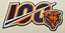 """Chicago Bears 5"""" Big 100th Anniversary Iron On Embroidered Patch ~Usa Seller~"""