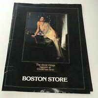 VTG Boston Store Catalog: 1970's - Diana Mitford Cover / Holiday Feeling