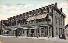 1911 Occidental Hotel Goshen NY post card Orange County