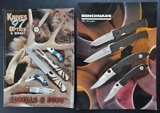 Vintage Benchmade & Gorilla Knives Catalogs