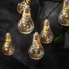 10 PZ Ombrello all/'aperto Multi Colore LED a energia solare stringa luci giardino veranda