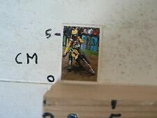 STICKER,DECAL ROGER DECOSTER 400 CC SUZUKI MOTOCROSS ALBUM CARD VANDERHOUT 11