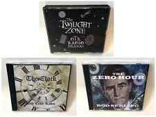 Twilight Zone, The Clock, Zero Hour, OTR Mystery Sci-Fi Collection (9 x mp3 CD)