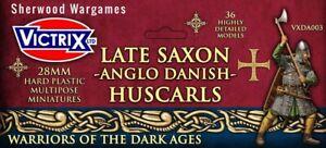 Huscarls, Late Saxons/Anglo Danes 28mm Victrix, Hail Caesar, Ancients BNIB