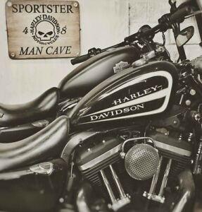 Chrome Round Mesh Air Cleaner Harley-Davidson Sportster BT CV Carb EFI 1988-2021