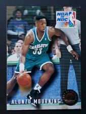 1993 Skybox Premium Nba on Nbc Alonzo Mourning #5 Charlotte Hornets Celtics