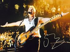 Autographed STING 11x14 The Police