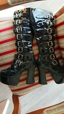 Demonia Boots 37-38, good state but soles underneath worn out. collector pair.