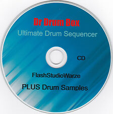 Dr Drumbox The Ultimate Drum Sequencer,Softsynth Tons of Hi end Pro Drum Samples