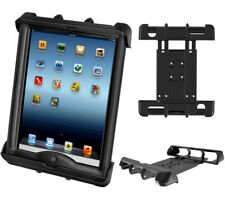 RAM Mount Aircraft Spring Loaded Cradle Apple iPad 1-4 with LifeProof & Lifedge