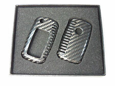 Deluxe Carbon Remote Flip Key Cover shell case for VW Golf MK5 MK6 TC0001