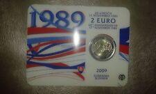 SLOVAKIA - 2009 - 20th anniversary of 17th NOVEMBER - 2 € - COINCARD