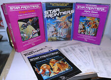 TSR Boxed ROLE PLAYING GAMES Star Frontiers + Alpha Dawn + Knight Hawks + XTRAS