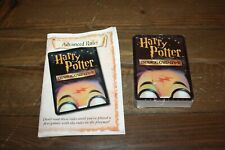 Harry Potter Trading Card Game Cards 2002 + Advanced Rules For Playing Booklet