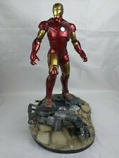 Marvel Comics Sideshow Collectibles Iron Man Mark 3 Polystone Maquette Statue