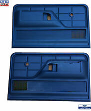 1978 1979 Bronco Blue Door Panels 1973 1974 1975-1979  F100 F150 F250 F350 Truck