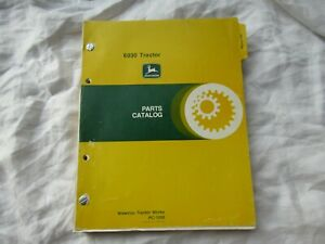 John Deere 6030 tractor parts catalog manual book