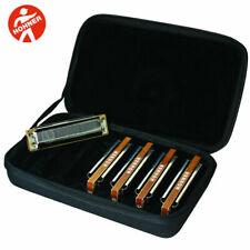 HOHNER Marine Band 1896 5-piece Harmonica Set With Case - Keys of G a C D E