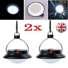 2pcs Ultra Bright Rechargeable 60 LED Camping Tent Light Lantern Fishing Lamp hy
