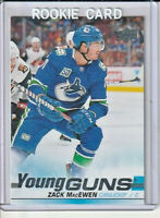 Zack MacEwen 2019-20 Upper Deck Young Guns Rookie Card #244