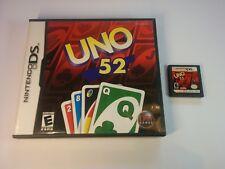 Uno 52-Nintendo DS - 2 DS 3 DS DSi-Gratuit, Rapide p&p!
