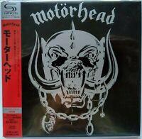 MOTORHEAD - Motörhead + 5 Bonustracks  JAPAN MINI LP SHM CD TECI-23605 NEU OVP