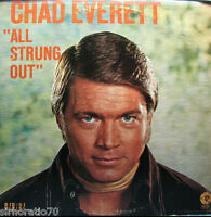 CHAD EVERETT All Strung Out  LP PROMO