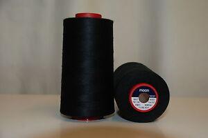 Moon 5000 Yard Cone Sewing Thread Colour: Black
