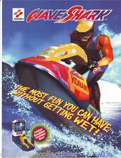 WAVE SHARK By KONAMI '96 ORIG NOS VIDEO ARCADE GAME MACHINE SALES FLYER BROCHURE