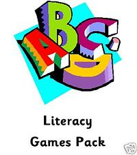 Teachers A1 Little Helper - Literacy Games Pack