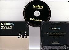 "QUEEN + P.RODGERS ""C-lebrity "" 1 Track PROMO CD RARE"