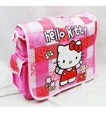 NWT Sanrio Hello Kitty Messenger Diaper Shoulder Messenger Bag Red Pink