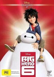 Disney Classics 47 - Big Hero 6. NEWSEALED DVD R4. Humor, Heart & Huggability.