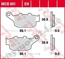 Bremsbelag Honda NC 750 D Integra ABS RC89A Bj. 2016 TRW Lucas MCB841SH
