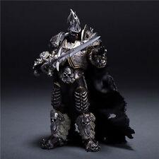 "WOW World of Warcraft Arthas Fall of The Lich King Arthas Menethil 7"" Figure"