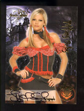 Benchwarmer Vault Halloween Autograph Card (2010) Tiffany Selby VH 16 of 16 NM