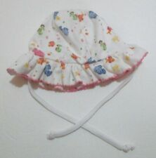 10b86c0b7d4 INFANT GIRLS KISSY KISSY BLUE   PINK PIMA COTTON FISH SUN HAT SIZE SM 0-