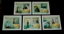 TOPICAL MIXED, 2010,TOME E PRINCIPE, LIGHTHOUSES,IMPERF. S/S, LOT #83, MNH, LQQK