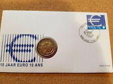Belgium 2009 2 euro stamp cover