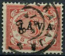 Netherlands Indies 1908 SG#147, 5c Optd With Java Used #E12169