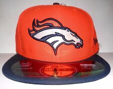 Denver Broncos New Era On Field 59Fifty Fitted Hat/Cap Sz 7 7/8 New Free SHP