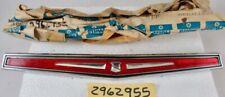 1970 Chrysler Newport Custom NOS MOPAR Rear Bumper Medallion