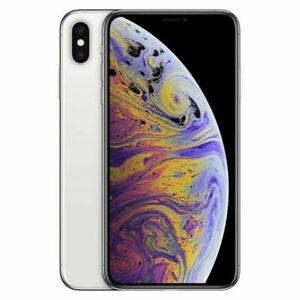Apple iPhone XS Max 64GB Silver Fully Unlocked (GSM+CDMA) NO FACE ID