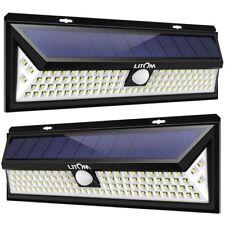 2 Pack 102 Led Super Bright Solar Lights Outdoor Power Solar Motion Sensor Light